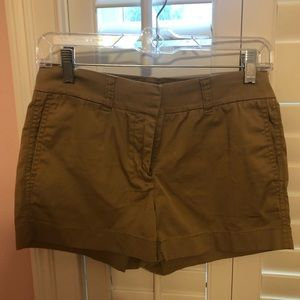 JCREW KHAKI CHINO SHORTS